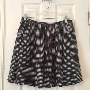 Madewell Gingham Skirt